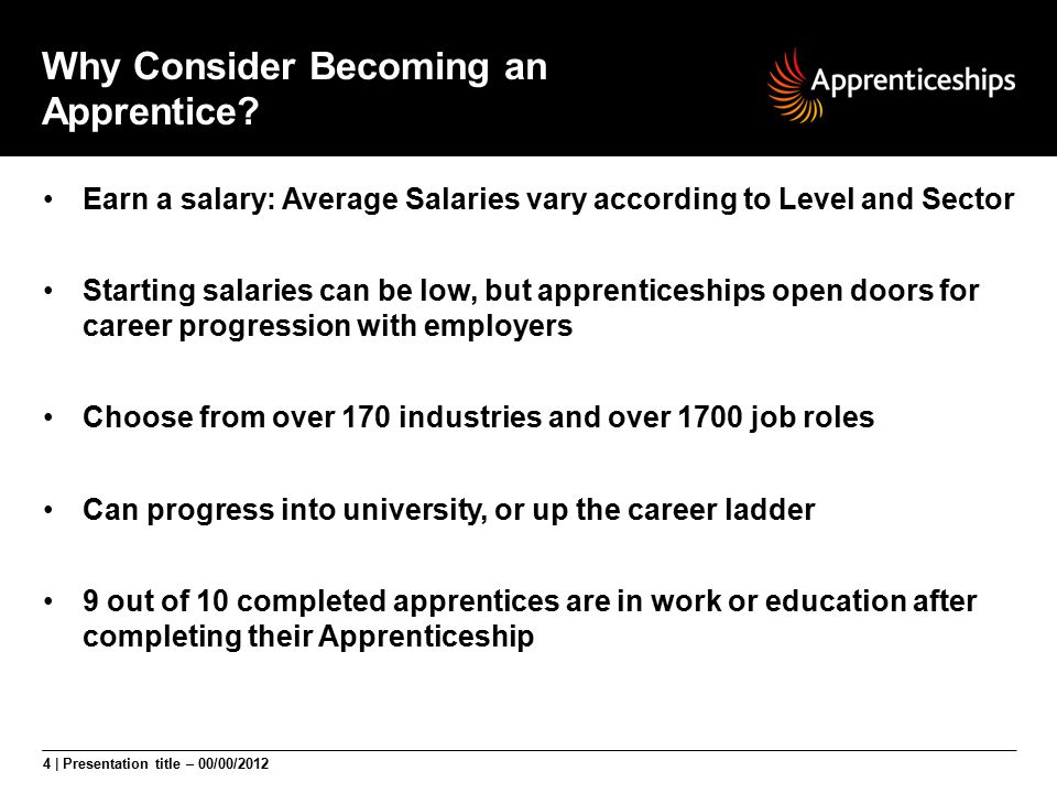 Why Consider Becoming an Apprentice