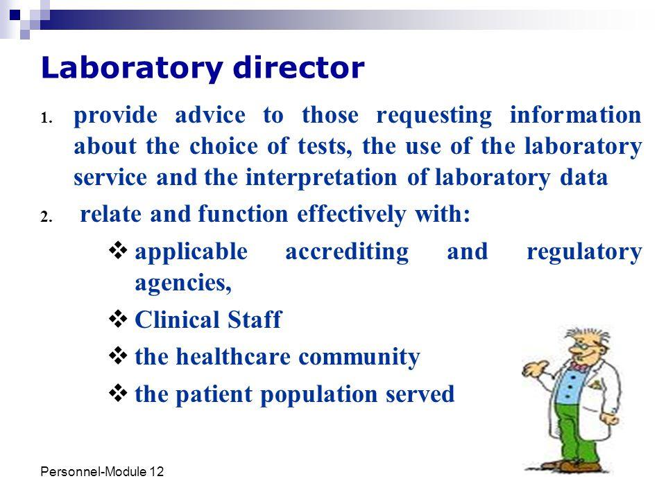 Laboratory director