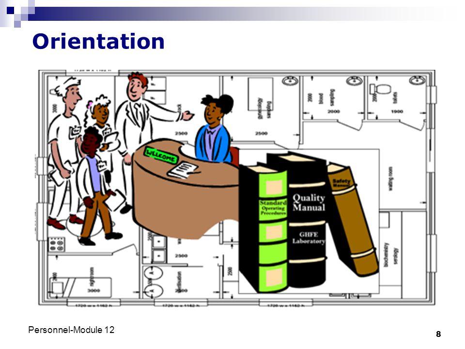 Orientation Personnel-Module 12
