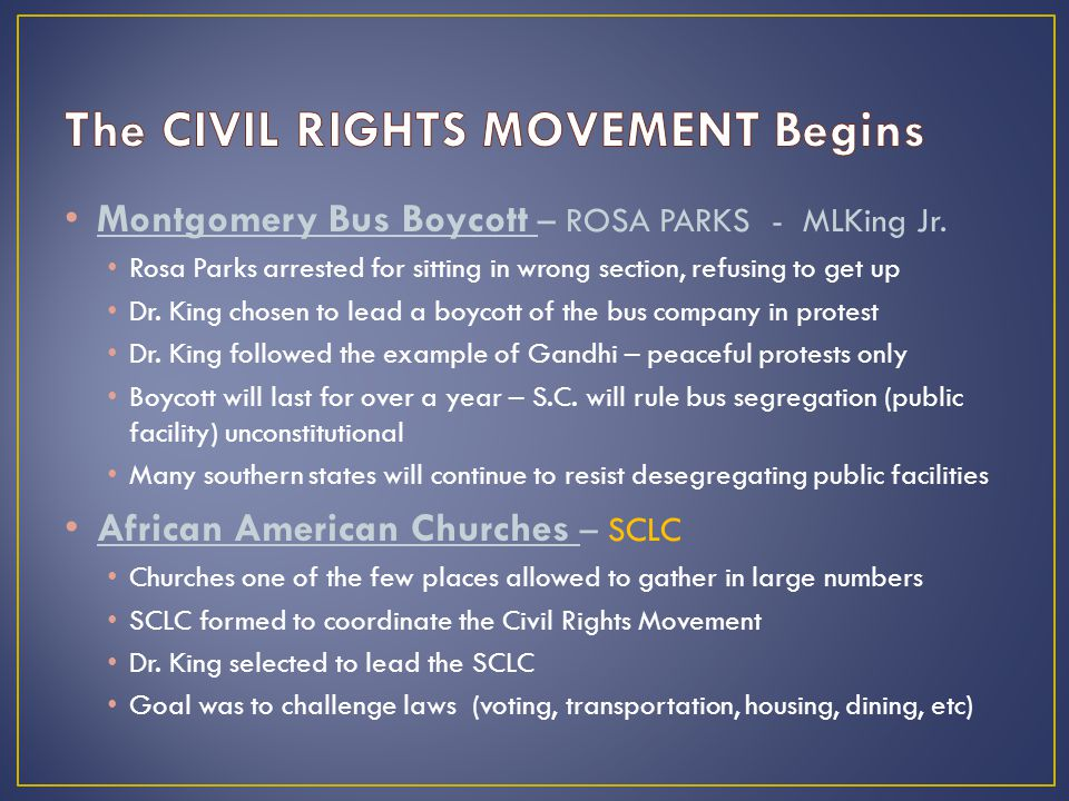 essay on african american civil rights movement Civil Rights Movement