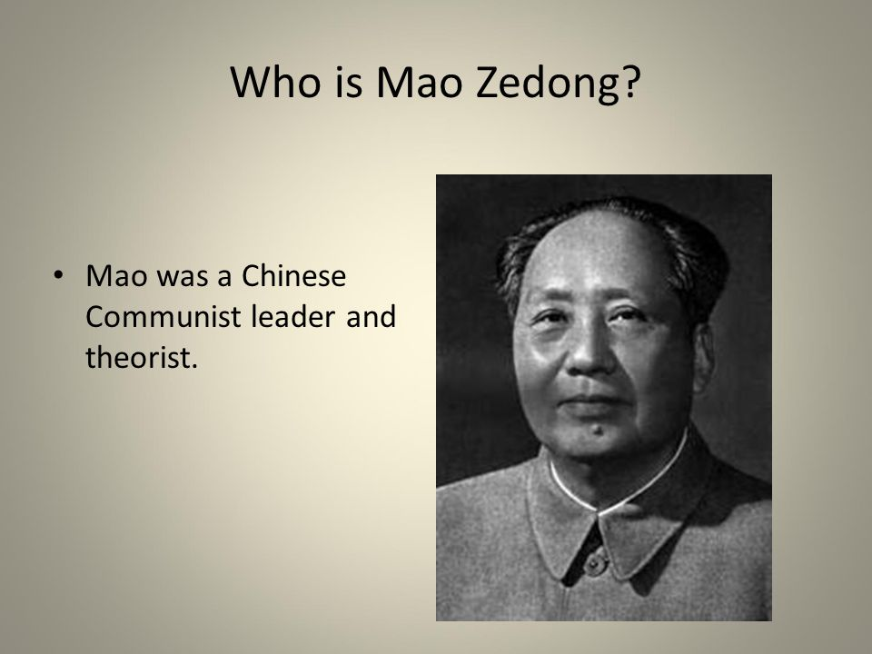 a look at communist china and the role mao tse tung in communism Mao tse-tung was the principal  china and himself, mao reveled in the political and cultural change sweeping the country move toward communist ideology in 1918.