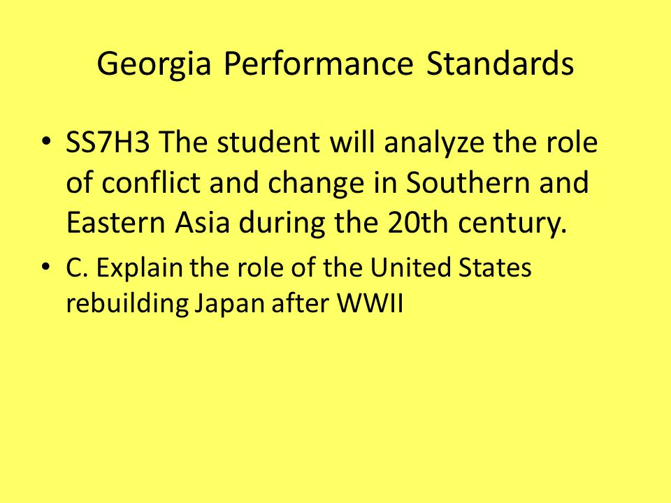 conflict and change in southern and eastern asia in 20th