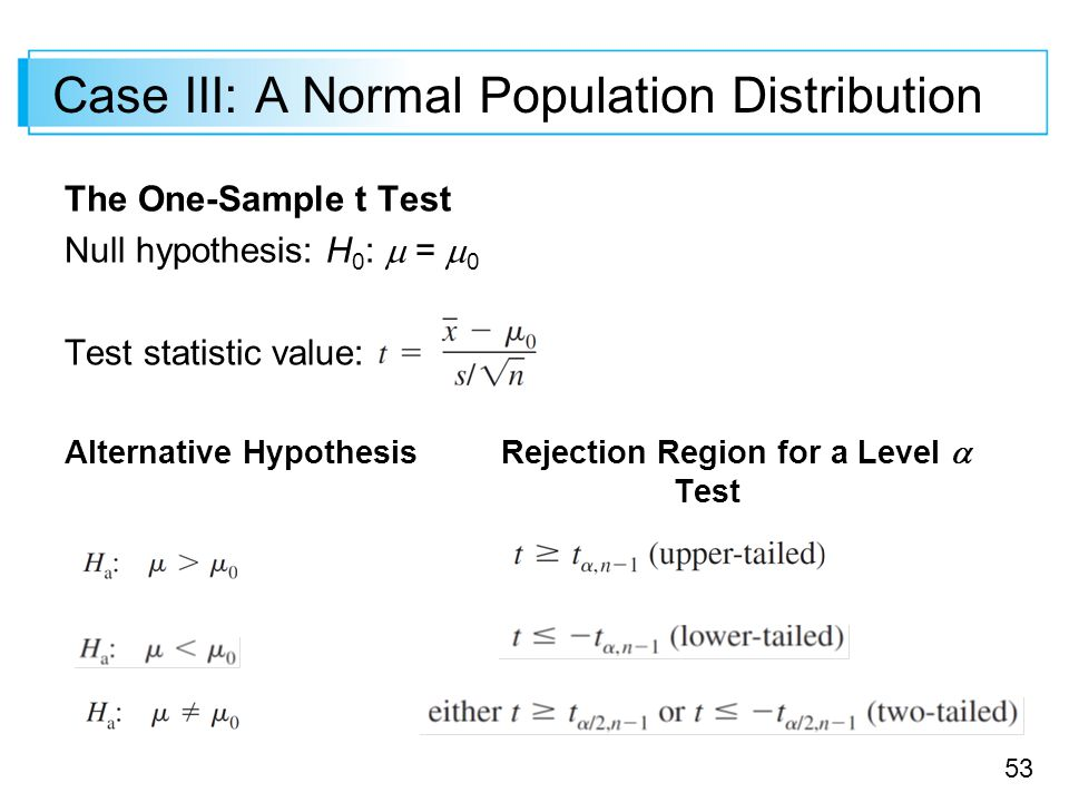 how to find test statistic for hypothesis test