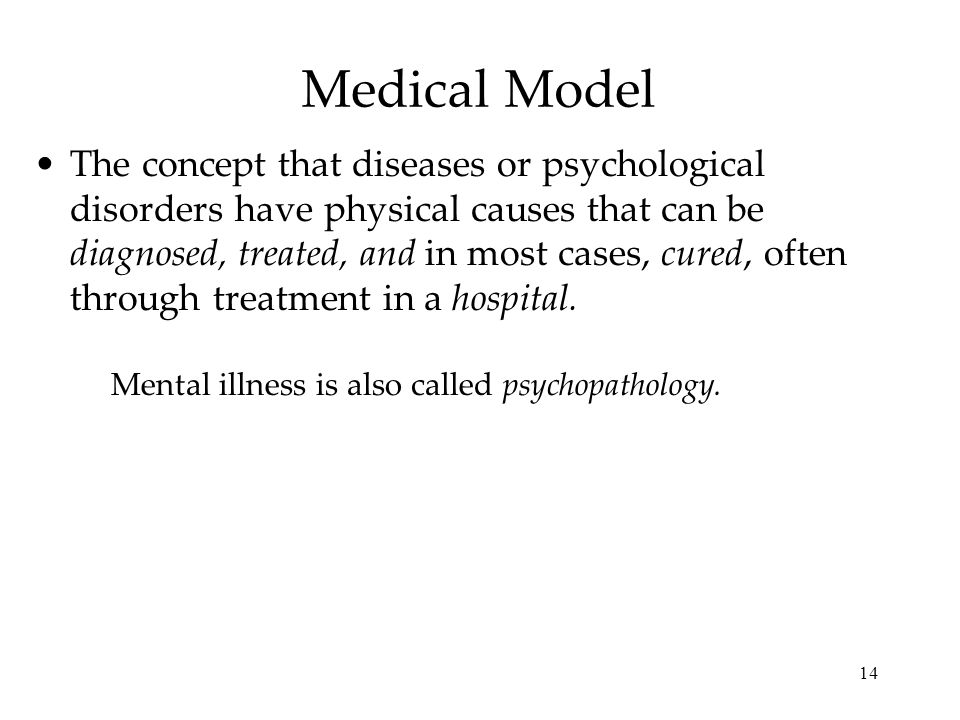 causes and classification of psychological disorders Defining psychological disorders mental health workers view psychological disorders  physical causes of these disorders 1  multiaxial classification.