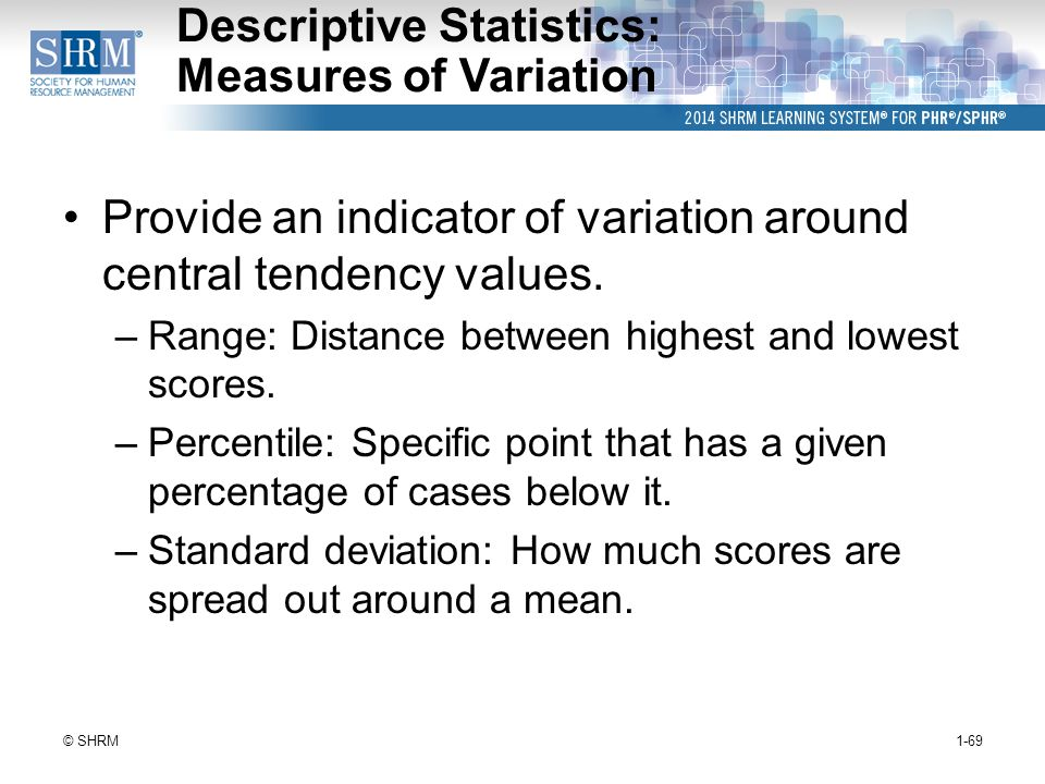 2 - Measures of Variability
