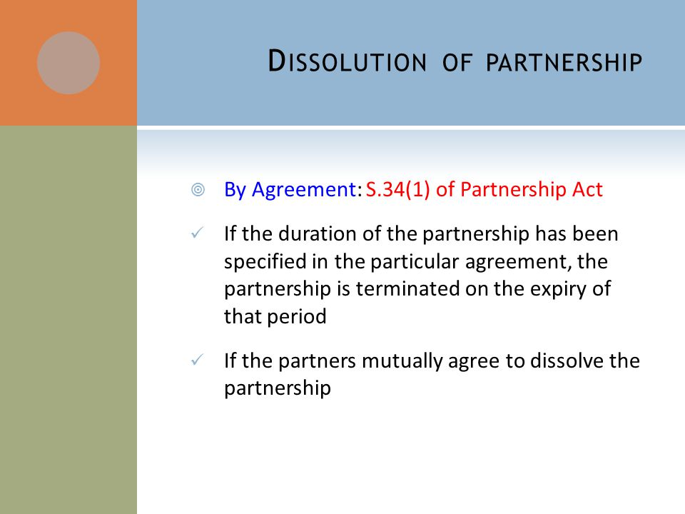 Partnership Law  Ppt Video Online Download