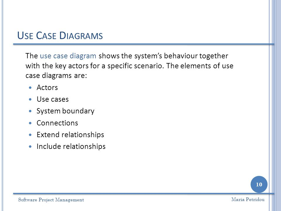 Lecture 8 use case analysis ppt video online download 10 university of nottingham 4162017 use case diagrams ccuart Choice Image