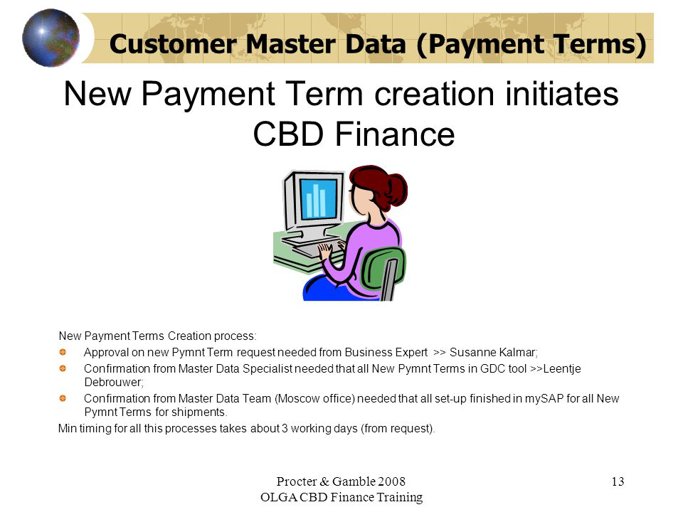 mySAP Training for Finance ppt download – Master Data Specialist