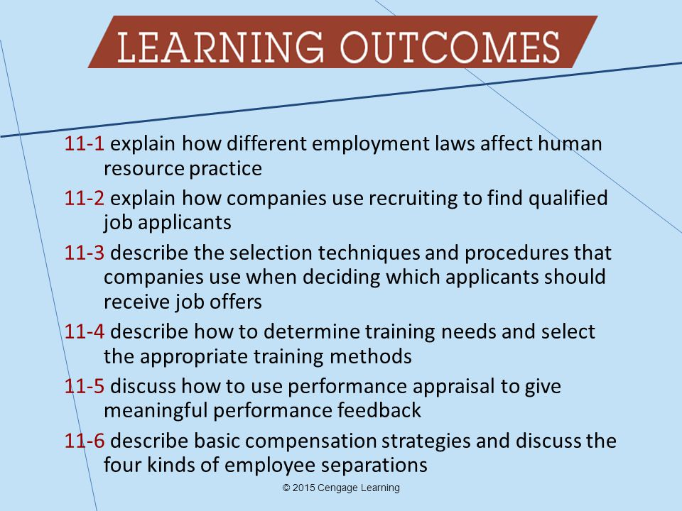 Chapter 11 Managing Human Resource Systems Ppt Download