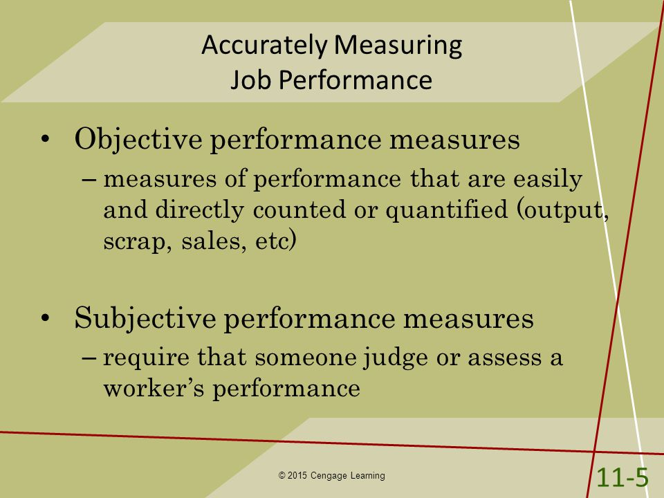 16 ways to measure job performance Performance at pty the decreasing in employee job performance for the past 3 years has indicated the author to analyze the impact of employee job satisfaction 16 ways to measure employee performance retrieved april 2 2015, from tompkins countynygov: tompkinscountynygov/files/workforceny/16 ways to.