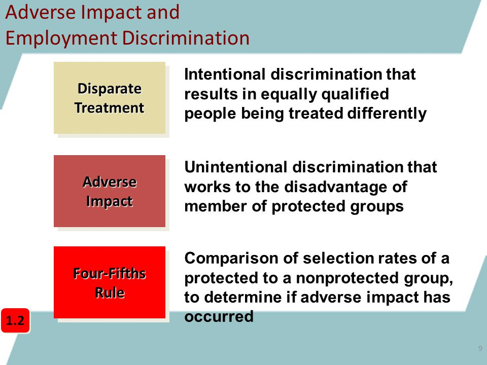 impact of gender discrimination on employee performance Abstract—research has shown that a recruitment policy devoid of gender discrimination enhances employee performance in an organization previous studies in nigeria show that gender discrimination against men and women based on their ethnic, religious and geographical identity is common.