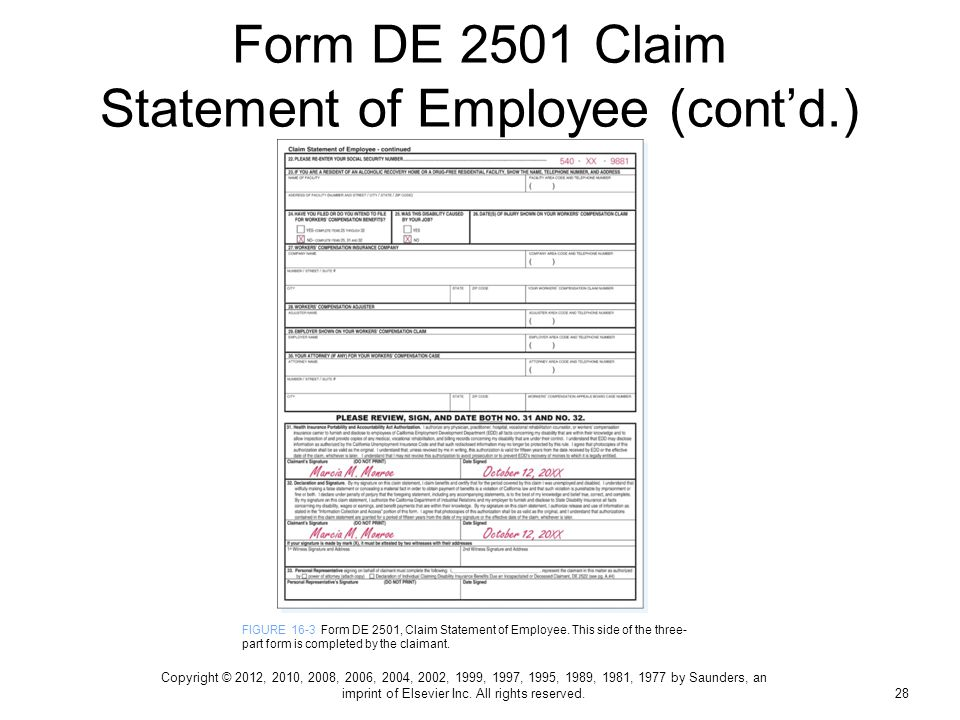graphic about Printable De 2501 Claim Form referred to as De 2501 For Disability Very similar Key terms Pointers - De