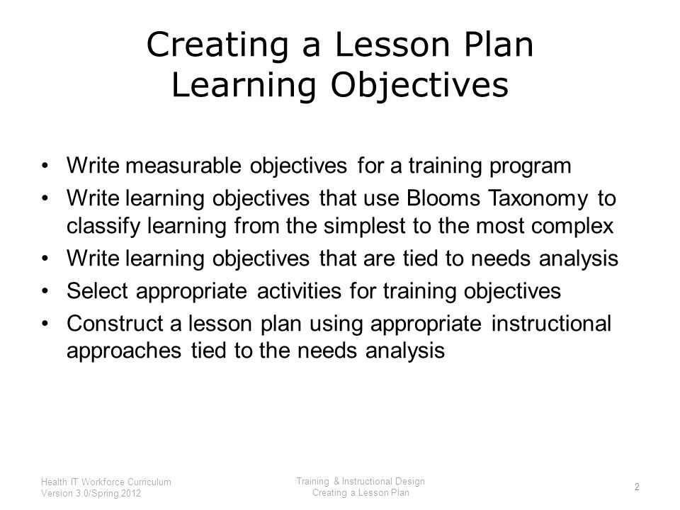 Training & Instructional Design - Ppt Download