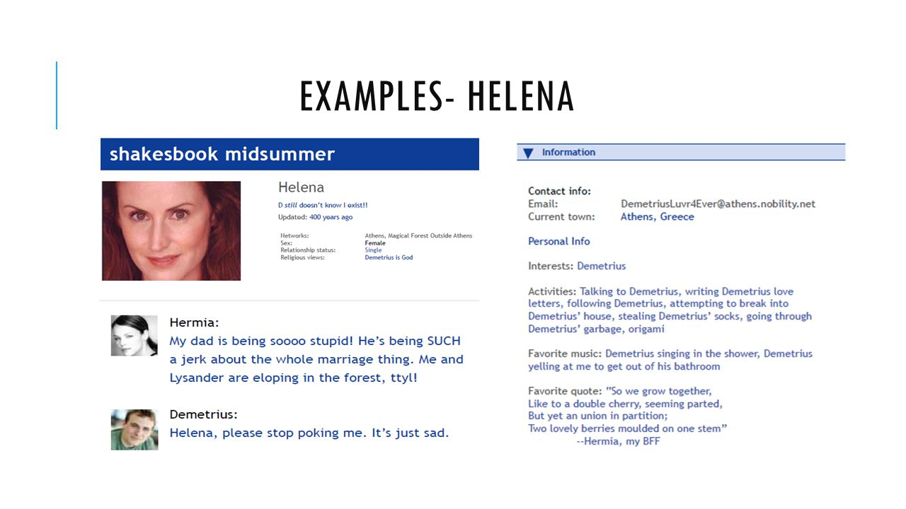 helena and demetrius essay Essay earn money a midsummer night dream short summary  as a result, both lysander and demetrius end up in love with helena helena thinks that they at mocking her hermia becomes jealous of helena and challenges her to a duel.