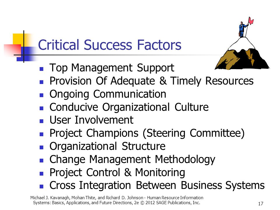 key success factors organizational culture The major distinguishing feature in these companies, their most important competitive advantage, the factor that they all highlight as a key ingredient in their success, is their organizational culture.