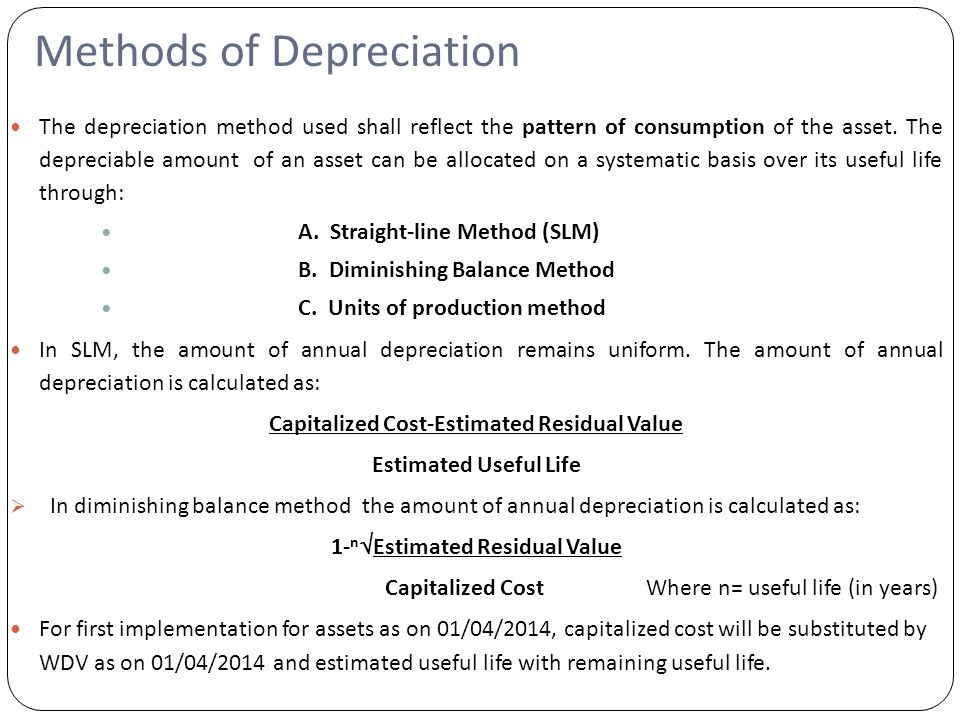 depreciation as per schedule ii of companies act ppt video