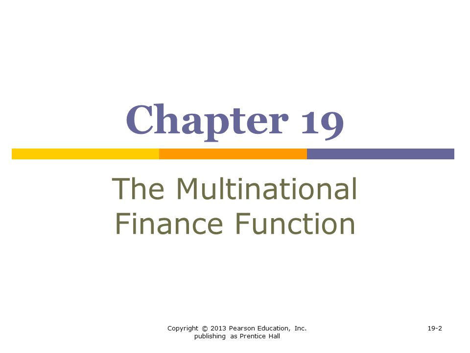 multinational business finance pearson pdf