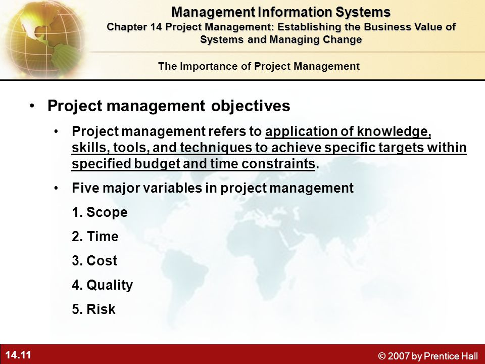 Importance Of Management Information System
