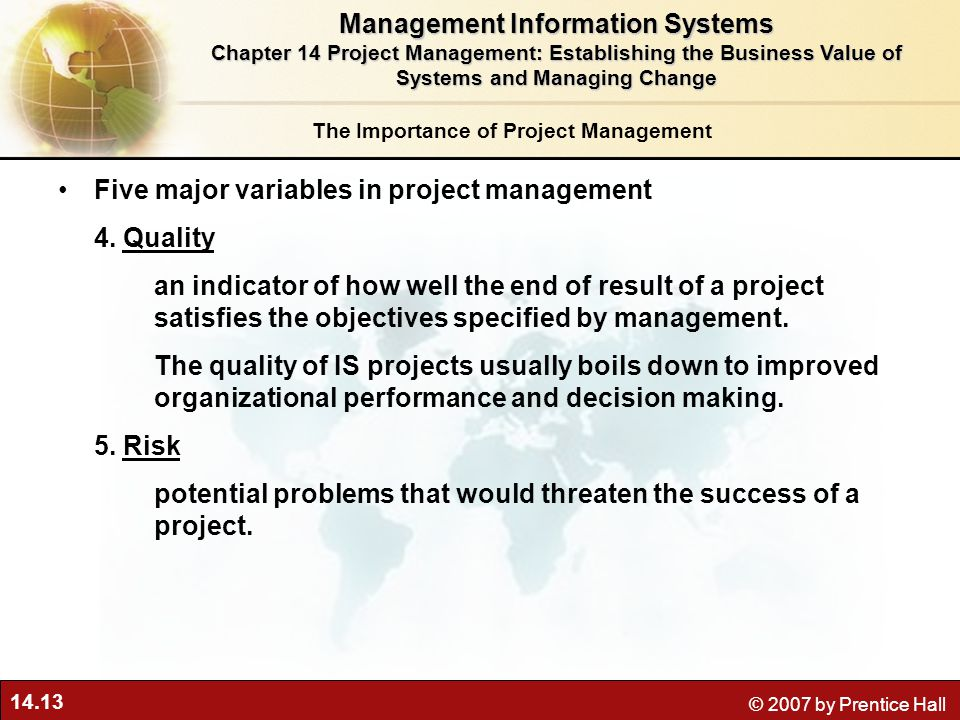 the importance of management information systems for a company The systems that comprise information technology in a business today encompass a number of types of computers, storage and networking equipment in fact, one definition of business information technology is: the use of any computers, storage, networking and other physical devices, infrastructure and processes to create, process, store, secure.