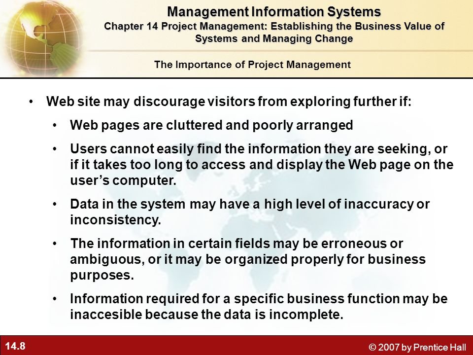 importance of management information system Presents a discussion on the importance of management information systems in management it explains the role of information, as an essential tool for managers in.