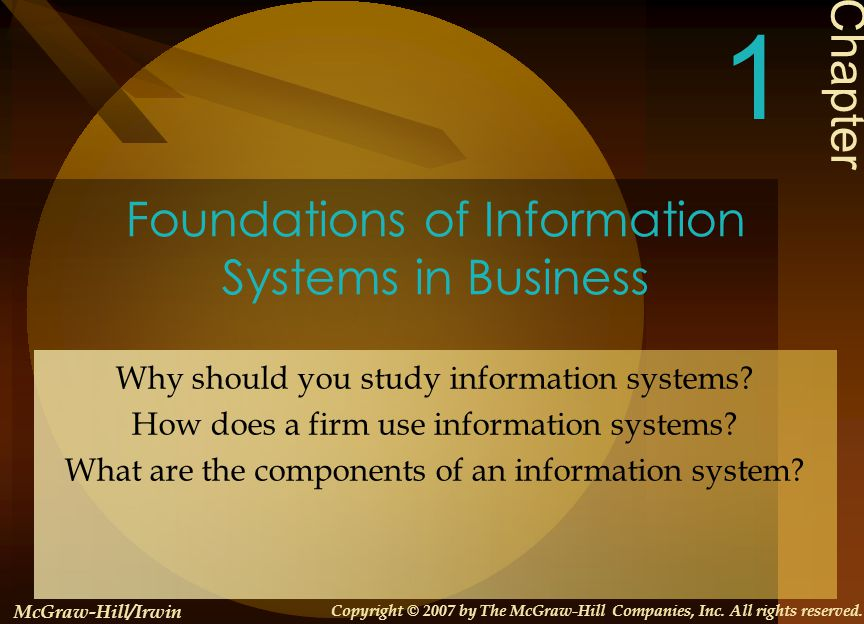 foundations of information systems in business Business information systems – gain a rewarding and exciting career ranging   business information systems with foundation bsc honours digital media.