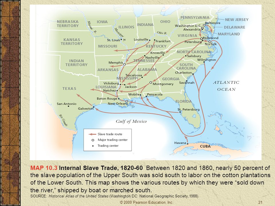 A HISTORY OF THE AMERICAN PEOPLE Ppt Download - Map of us states 1860 slave