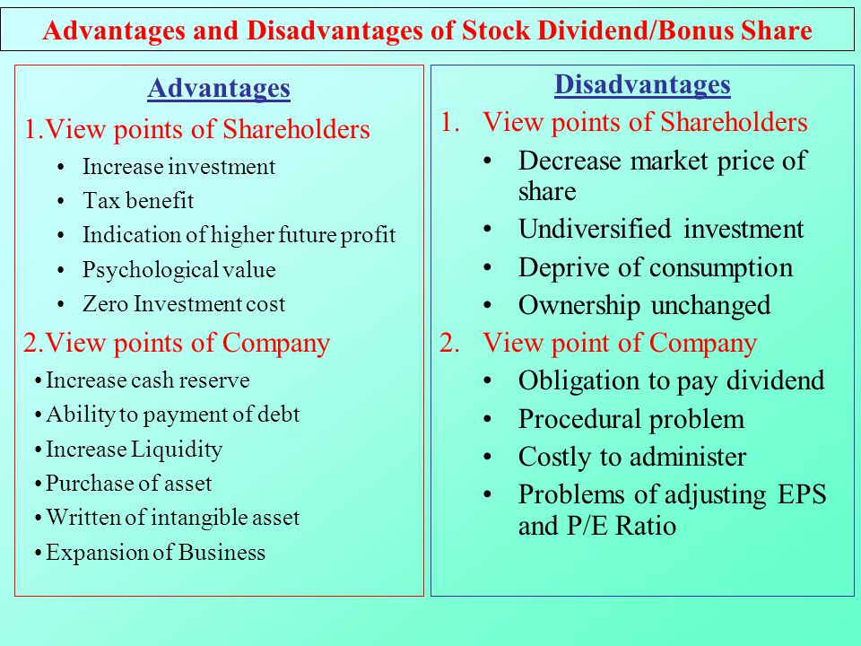advantages and disadvantages of stock exchange Learn about the advantages and disadvantages of stock indexes and passive index funds discover how there is an opportunity cost to using index funds.