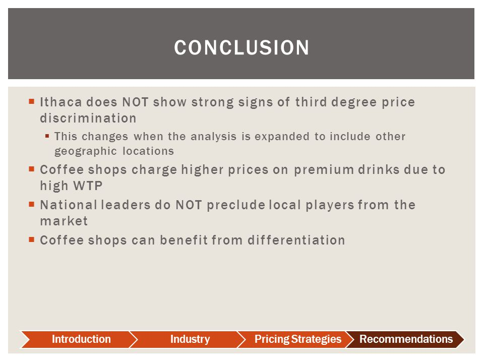 an introduction and an analysis of the price discrimination 1 introduction  monopoly analysis of third-degree price discrimination leads  2indeed, there is almost no analysis of price discrimination with arbitrage costs.
