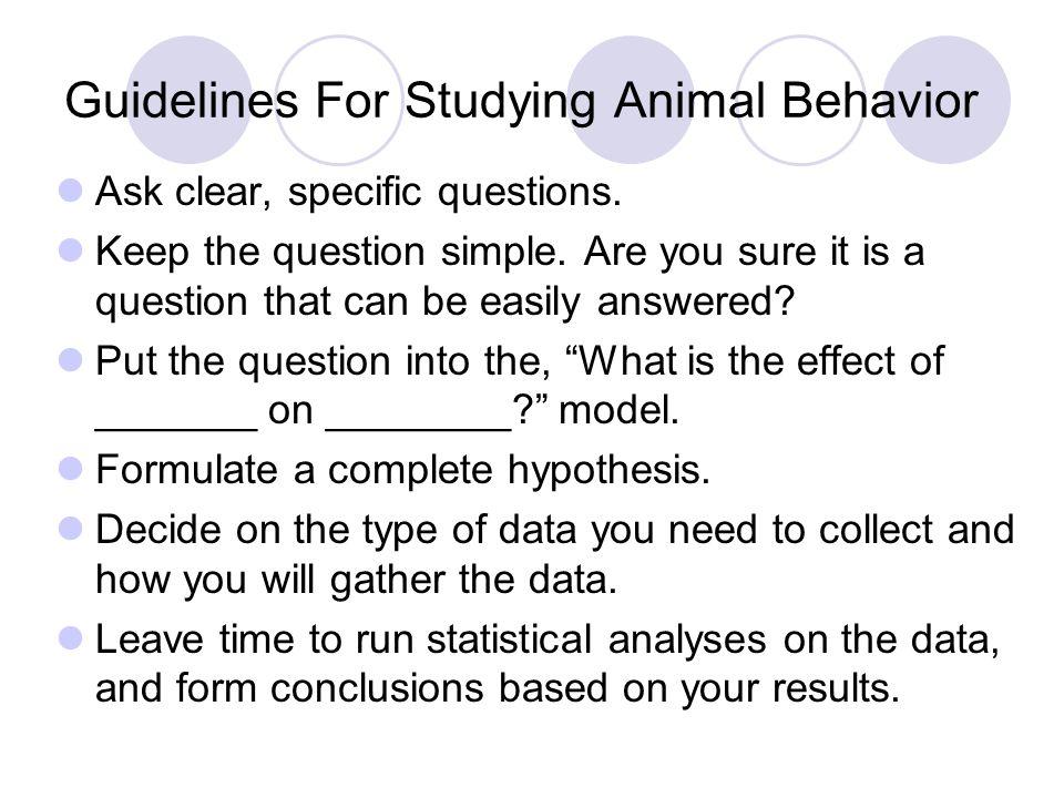introduction to animal behaviour pdf