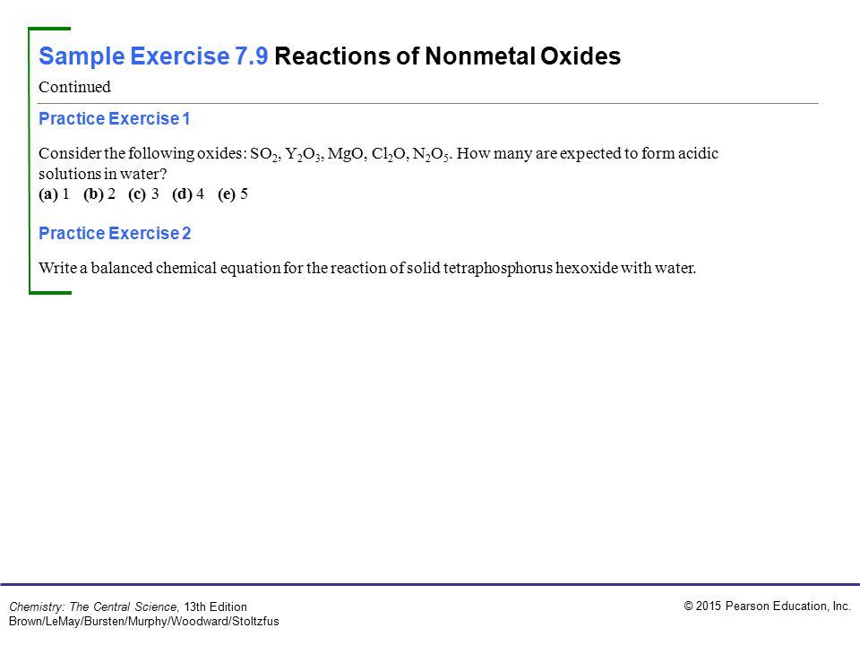 Sample Exercise 7.1 Bond Lengths in a Molecule - ppt video online ...