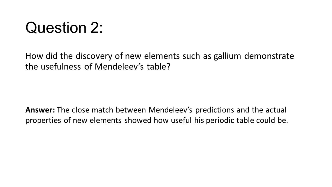 How did mendeleev create the periodic table gallery periodic dmitri mendeleev discovery of the periodic table gallery how did mendeleev create the periodic table image gamestrikefo Choice Image