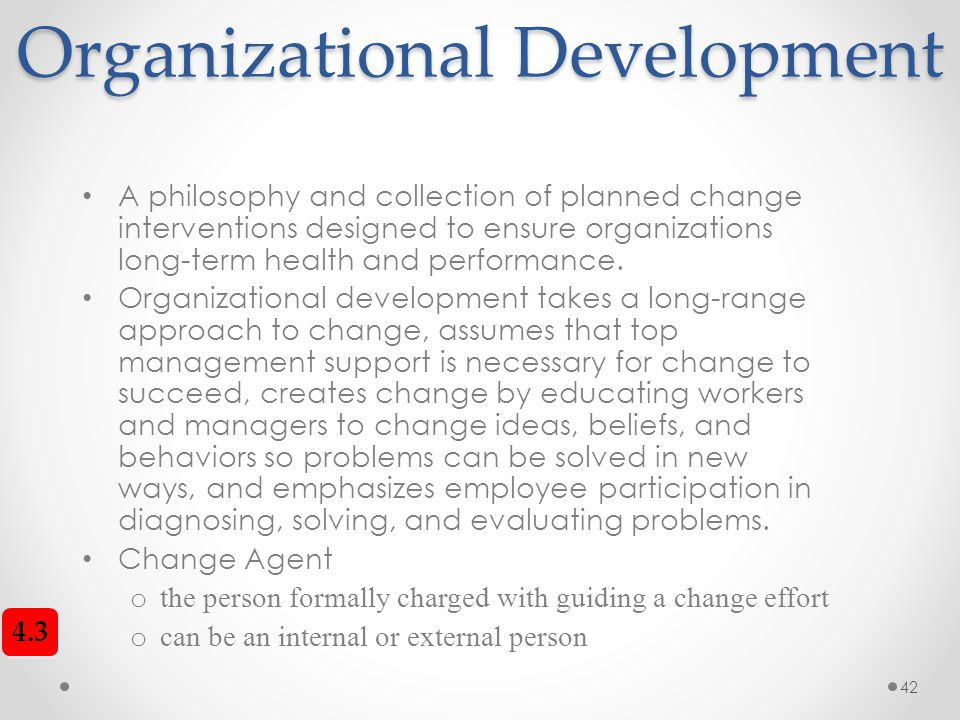 planned approach to change is still What are the advantages of a participatory planning approach  some people  might not want to be involved - they may feel it takes too much time, or they   targets of change are the people at whom the intervention is aimed or whom it is .