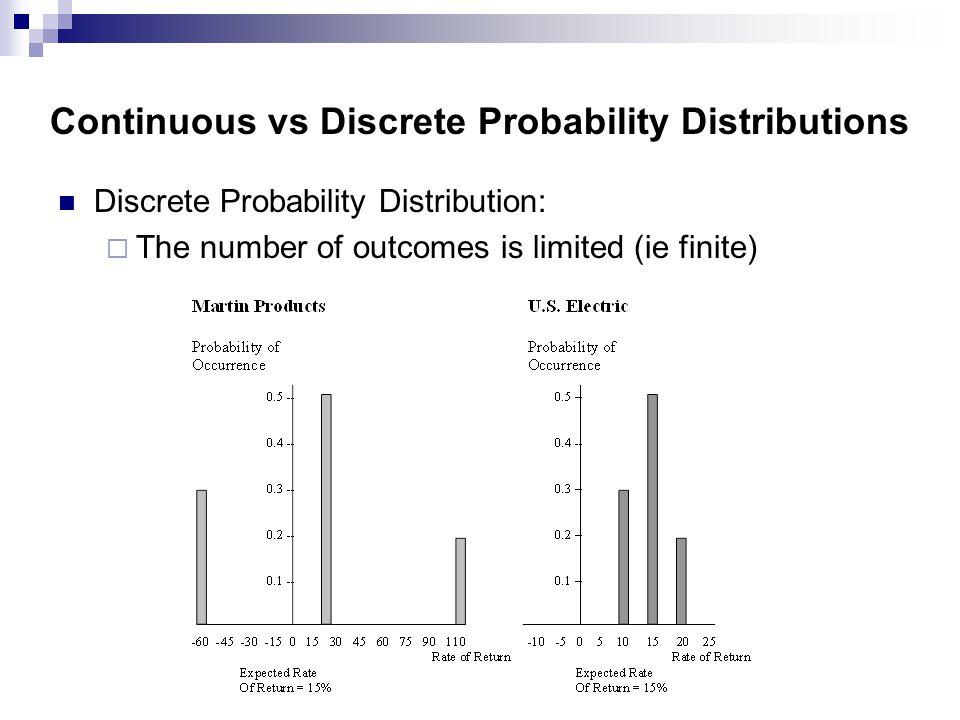 discrete and continuous probability distributions pdf