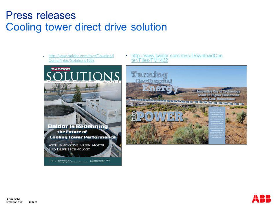 Agenda cooling tower information cooling tower market for Baldor direct drive cooling tower motors