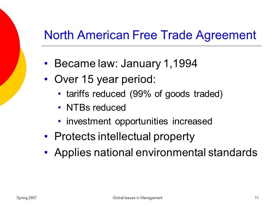 north american free trade law Abbott, frederick m north american free trade agreement, case law (max planck encyclopedia of public international law) berlin forum on global politics .