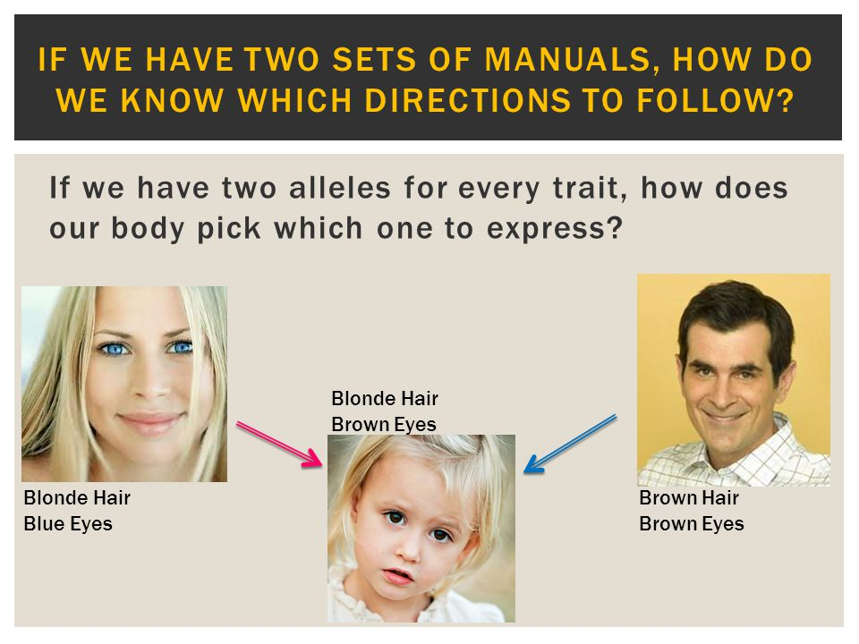 If we have two sets of manuals, how do we know which directions to follow