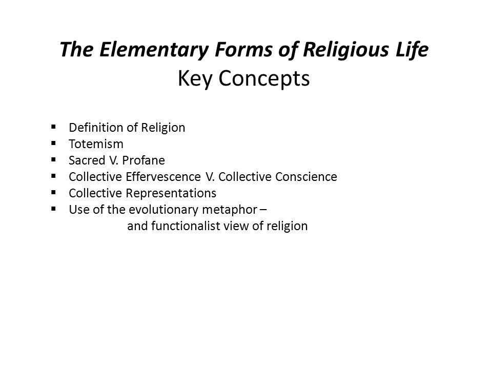 the elementary forms of the religious Free kindle book and epub digitized and proofread by project gutenberg.