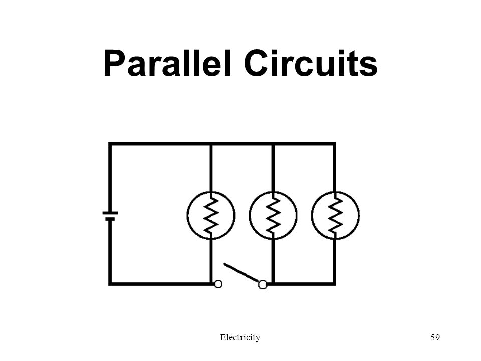 Parallel Circuits Electricity