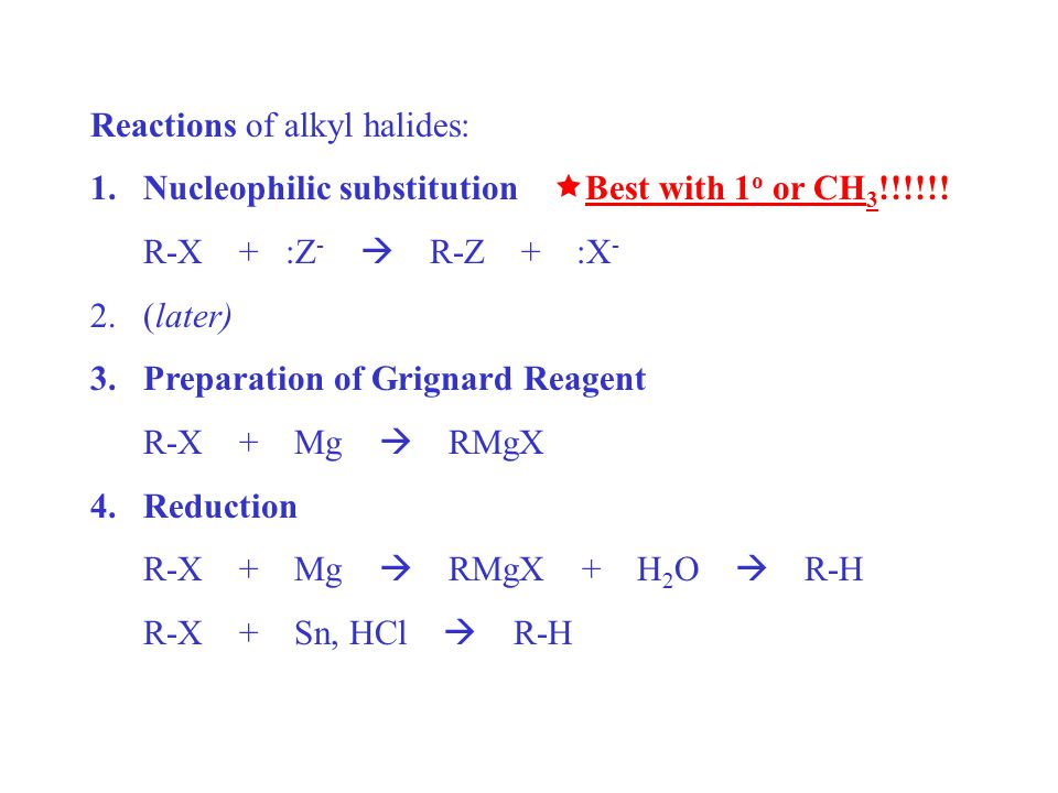 nucleophilic substitution synthesis of n butyl bromide The percent recovery of n-butyl bromide by nucleophilic substitution and extraction was tested in the current experiment sodium bromide was reacted with n-butyl alcohol and sulfuric acid, forming n-butyl bromide via an sn2 reaction mechanism.