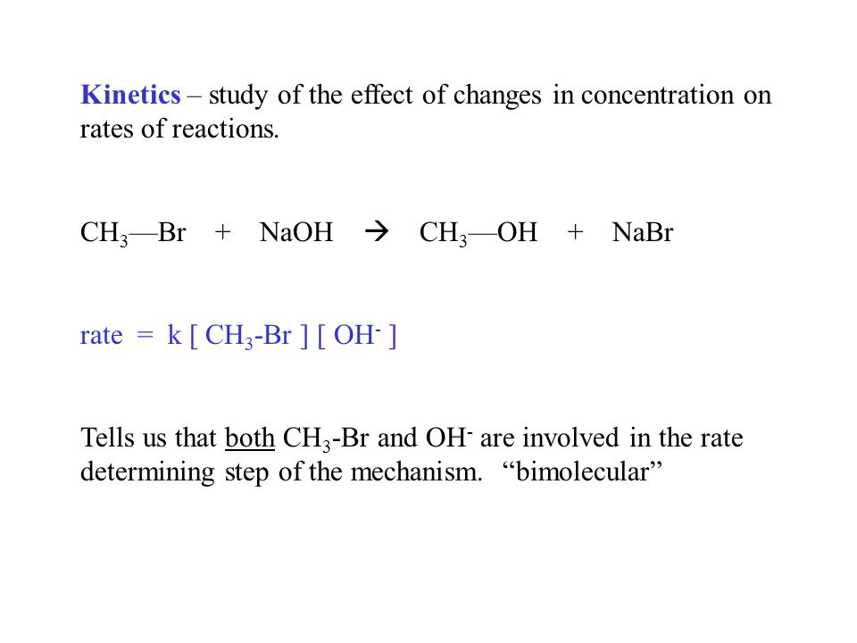 an analysis of concentrations effects on the rate of reaction We can describe the reaction rate with a simple equation to understand how   how do enzymes and substrate concentration affect the rate of a chemical  reaction  interpretation: as we can see, the rate of product formation increases  with.