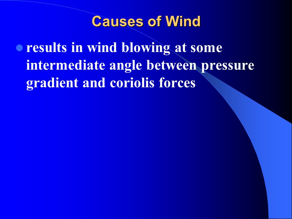 Atmospheric Pressure and Wind Systems - ppt download
