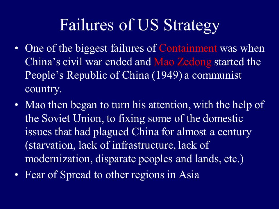 mao zedong successes and failures Mao zedong timeline timeline description: a communist leader with an anti- imperialist outlook, chairman mao used marxist-leninist concepts, political.