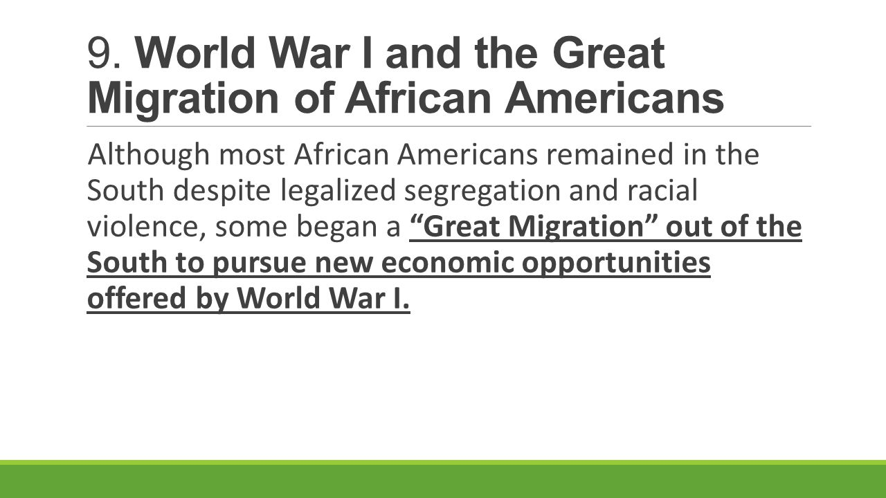 an essay on the unwilling migration of african americans into the united states So what the discovery of african writers did for me was this: it saved me from   now, i was quite willing to contend that there were a number of things wrong with  the  and, as often happens in america, immigration became synonymous with.