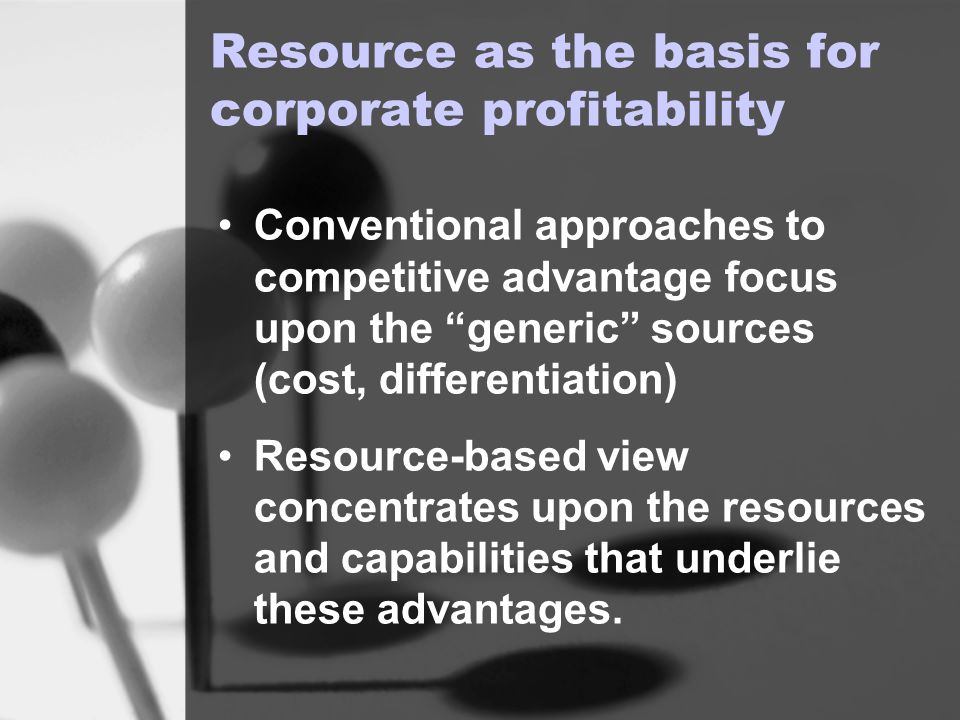 discuss the role of resources and capabilities in strategy formulation Analyze and discuss the different facets of business strategy formulation  formulation emphasizing that strategy  role of firm resources and capabilities.