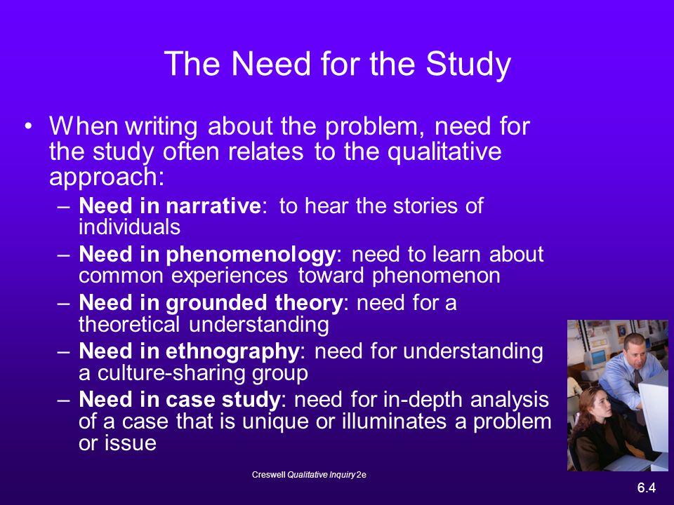 Case study vs narrative inquiry ResearchGate     places studied      Creswell Qualitative Inquiry  e      Case