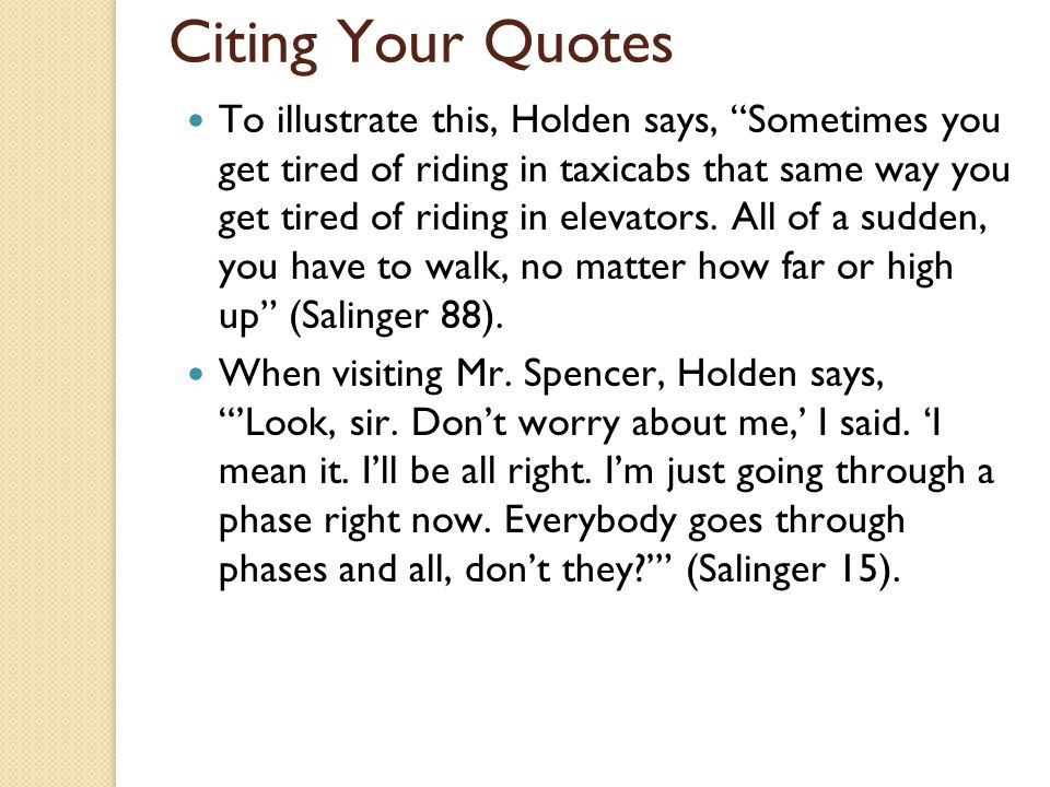 jd salinger thesis statement Need help on themes in j d salinger's the catcher in the rye check out our thorough thematic analysis from the creators of sparknotes.