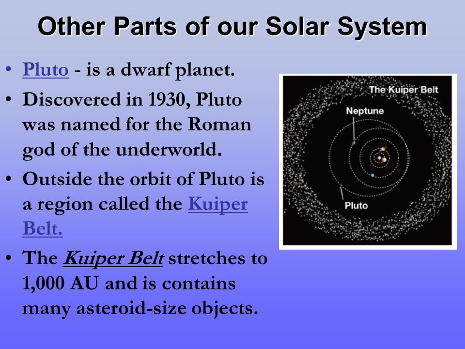 The Solar System Ancient observers noticed that five ...