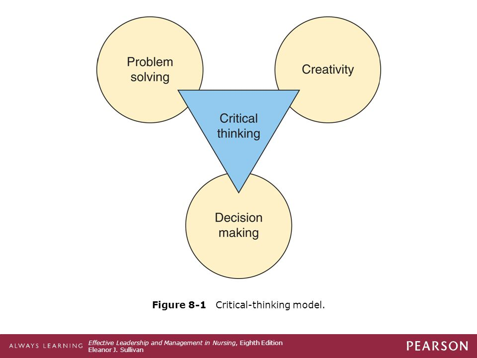 Figure 8-1 Critical-thinking model.