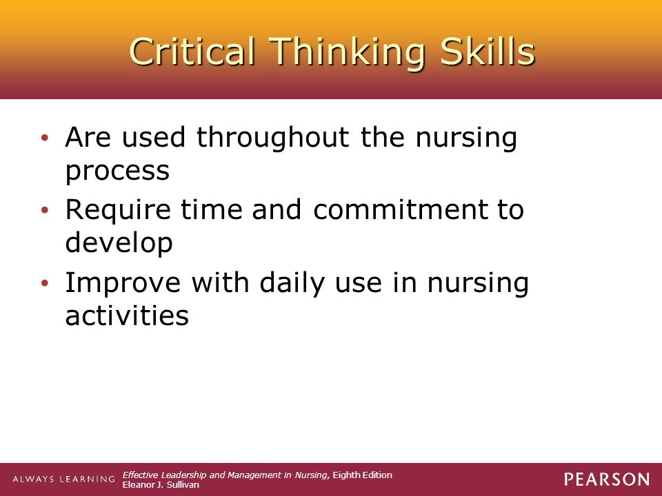 Critical Thinking Skills   Thinking skills  Critical thinking     ThinkWatson com math homework help algebra connections  critical thinking skills and  dispositions