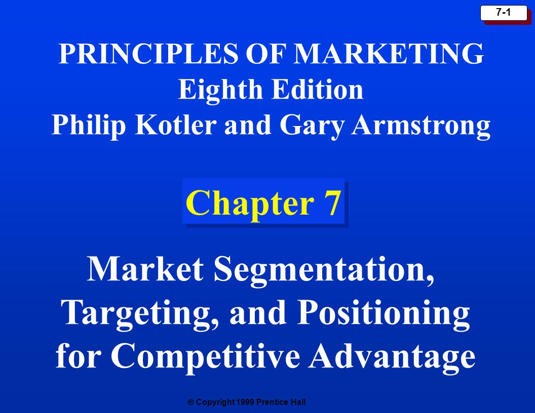 Targeting And Positioning For Competitive Advantage Ppt Video